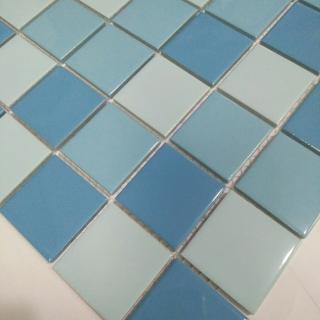 Mosaic Gốm Sứ trộn màu 48x48x6mm MSG480606