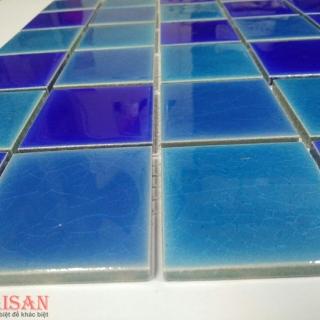 Mosaic Gốm Sứ trộn màu 48x48x6mm MSG480608
