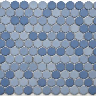 Gạch Mosaic lục giác MSG250427