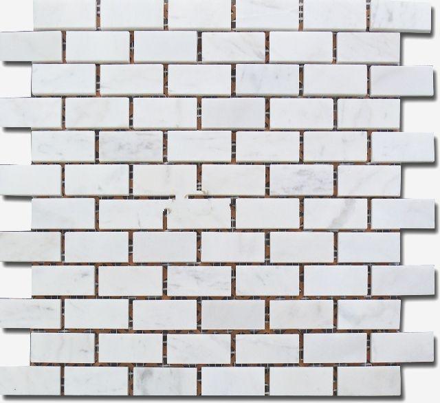 Đá Mosaic tự nhiên màu trắng MR-1.08/B