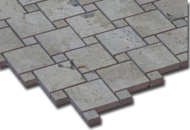 Mosaic đá tự nhiên kích thước 48x48mm DS2-MS-4.66/P