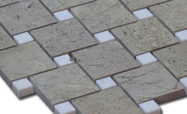 Mosaic đá tự nhiên kích thước 48x48mm DS2-MS-4.63/P