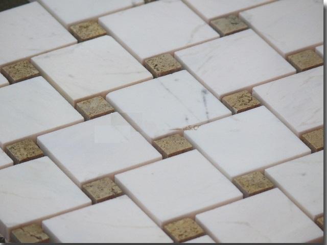 Mosaic đá tự nhiên kích thước 48x48mm DS2-MS-4.36/P