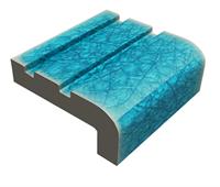 Gạch Mosaic mũi bậc chống trơn 50mm QMPK7