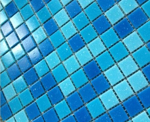 Gạch Mosaic bể bơi Trung Quốc kích thước 20x20x4mm AMG2AA02