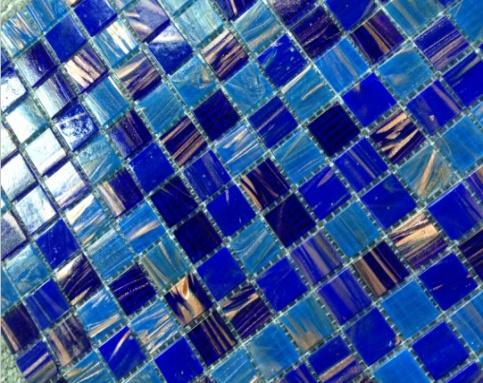 Gạch Mosaic bể bơi Trung Quốc kích thước 20x20x4mm AMG2AF18
