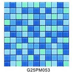 Gạch Mosaic bể bơi Trung Quốc kích thước 20x20x4mm G25PM053
