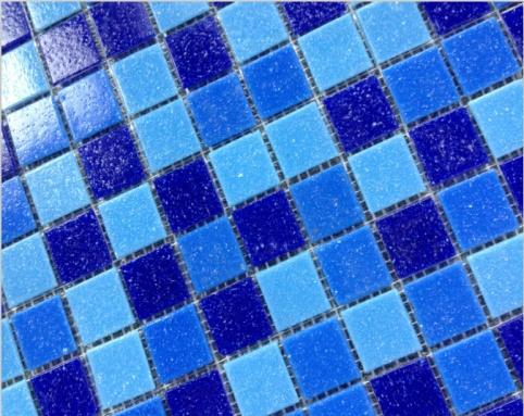 Gạch mosaic bể bơi Trung Quốc kích thước 20x20x4mm AMG1AC01