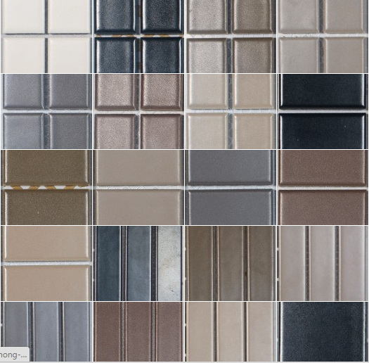 Gạch Mosaic gốm Basic Nature Glazed Porcelain DS2439
