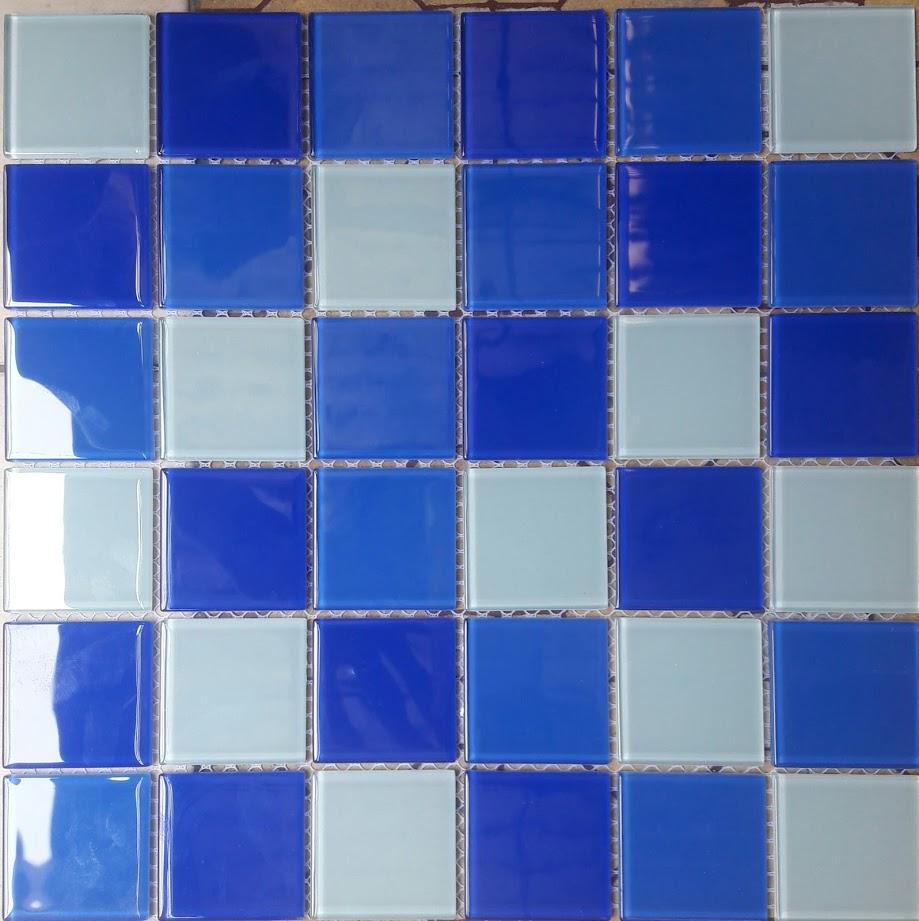 Gạch mosaic ốp bể bơi kích thước vỉ 300x300mm HB00