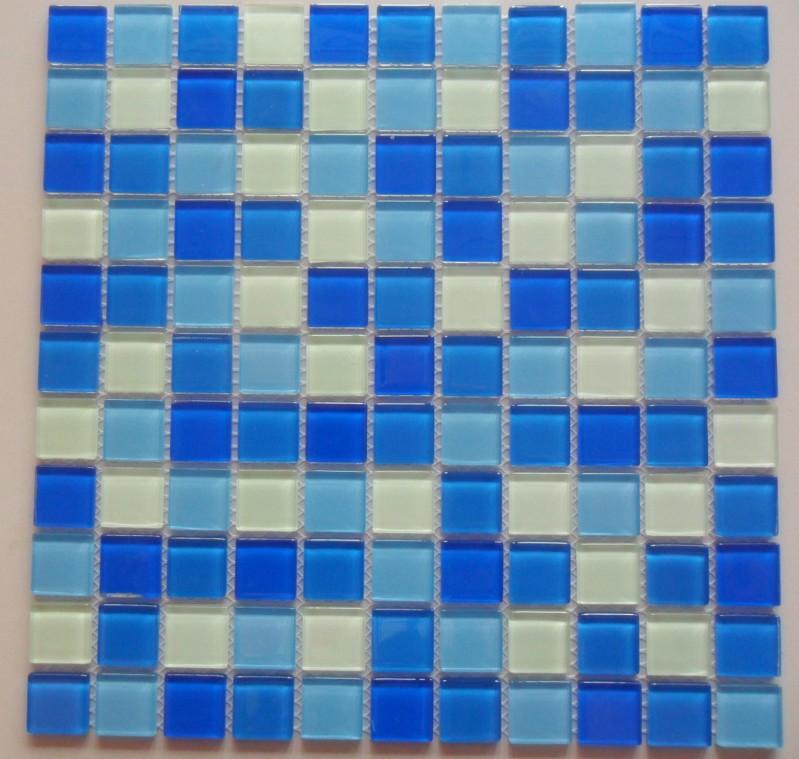 Gạch mosaic ốp bể bơi kích thước vỉ 300x300mm HB12