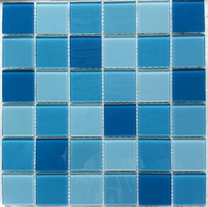 Gạch mosaic ốp bể bơi kích thước vỉ 300x300mm HB13