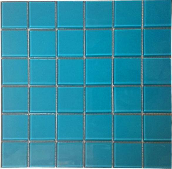 Gạch mosaic ốp bể bơi kích thước vỉ 300x300mm HB20