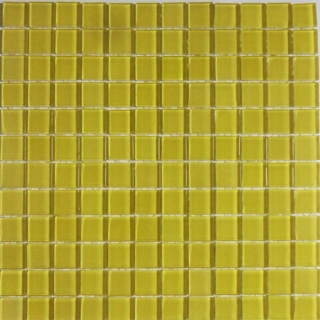 Gạch Mosaic thủy tinh đơn màu chip 24*24 mm Mã CNS- VC6