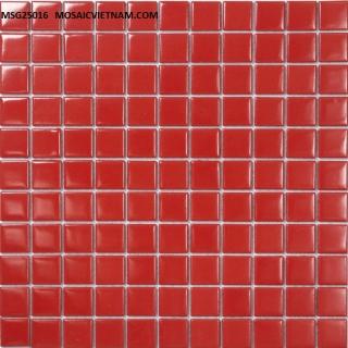 Mosaic gốm sứ đơn màu 25x25x4 MSG25016
