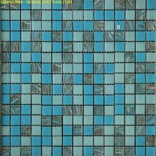 Gạch Mosaic thủy tinh MSTM25058