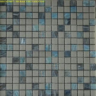 Gạch Mosaic thủy tinh MSTM25057