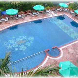 Gạch ghép gốm sử dụng cho bể bơi
