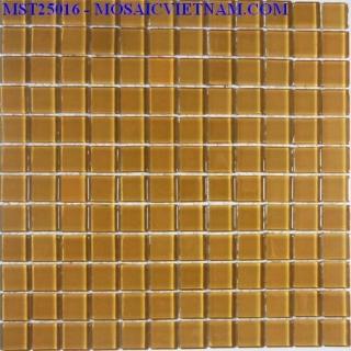 Mosaic thủy tinh đơn màu 25X25X4 MST25016