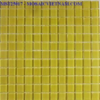 Mosaic thủy tinh đơn màu 25X25X4 MST25017