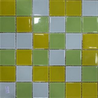 Mosaic thủy tinh kích cỡ 48X48X4 MST48100