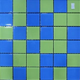 Mosaic thủy tinh kích cỡ 48X48X4 MST48113