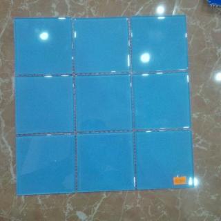 Mosaic thủy tinh 98x98x4mm MST98003
