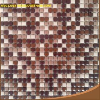 Mosaic Gốm Sứ 12x12x6mm MSG12018
