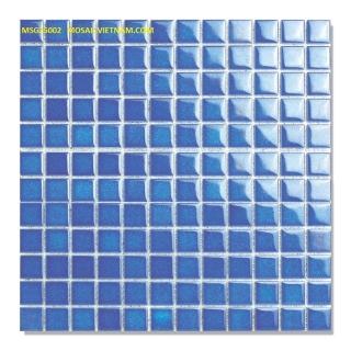 Mosaic Gốm Sứ 25x25x4mm MSG25002