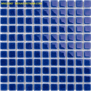 Mosaic Gốm Sứ đơn màu 25x25x4mm MSG25007