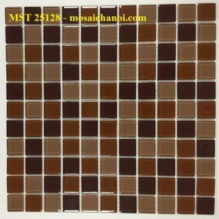 Mosaic Gốm Sứ trộn màu 25x25x4mm MST25128