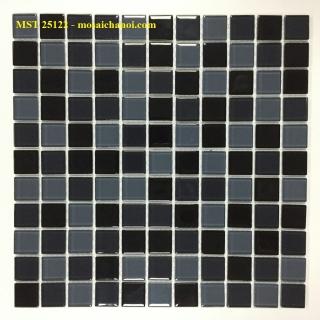 Mosaic Gốm Sứ trộn màu 25x25x4mm MST25122