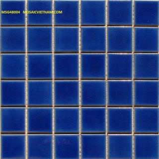 Mosaic Gốm Sứ đơn màu 48x48x6mm MSG48004