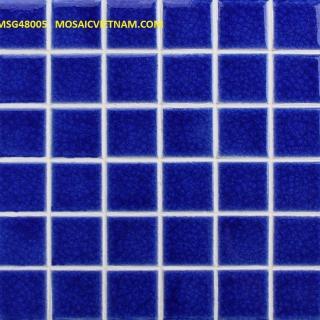 Mosaic Gốm Sứ đơn màu 48x48x6mm MSG48005