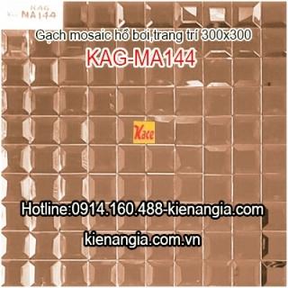 Gạch mosaic hồ bơi kim cương 30x30 KAG-MA144