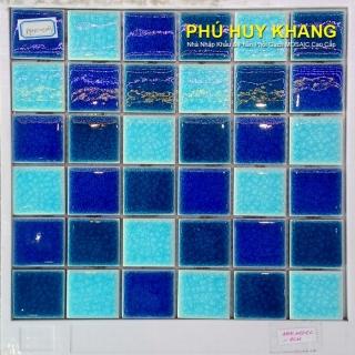 Gạch Mosaic gốm 25x25mm MS02
