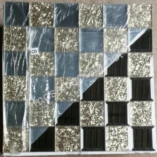 Gạch Mosaic thuỷ tinh 50x50mm MSTT41