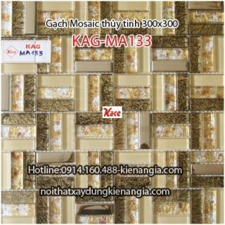 Gạch Mosaic thủy tinh cao cấp 50x50mm KAG-MA133