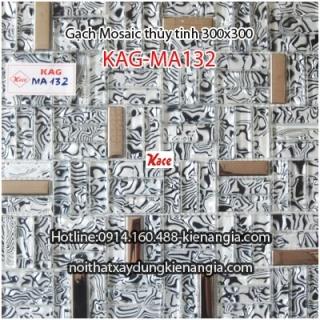 Gạch Mosaic thủy tinh cao cấp 50x50mm KAG-MA132