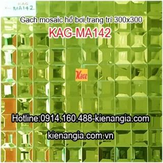 Gạch mosaic hồ bơi kim cương KAG-MA142