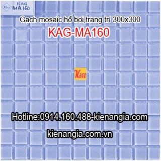 Gạch Mosaic gốm 25x25mm KAG-MA160