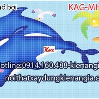 Gạch mosaic hồ bơi KAG-MHB02
