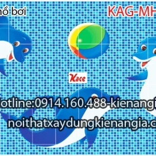 Gạch mosaic hồ bơi KAG-MHB01