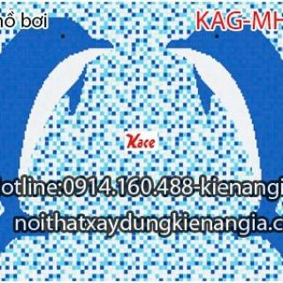 Gạch mosaic hồ bơi KAG-MHB05