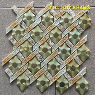 Gạch Mosaic thủy tinh  MS63