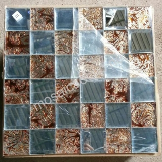 Gạch Mosaic thủy tinh 50x50mm MSTT_THV