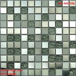 Gạch Mosaic thủy tinh trộn màu MT-MST036