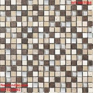 Gạch Mosaic thủy tinh trộn màu MT-MST034