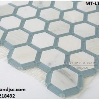 Gạch Mosaic lục giác MT-LT0037