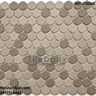 Gạch Mosaic lục giác MT-LT0030